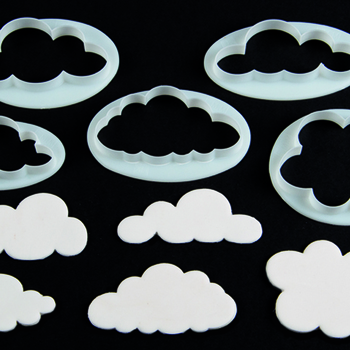 Fluffy Clouds Cutters