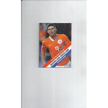 2009 Holland v England Football Programme