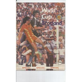 World Cup Scotland Special for 1978
