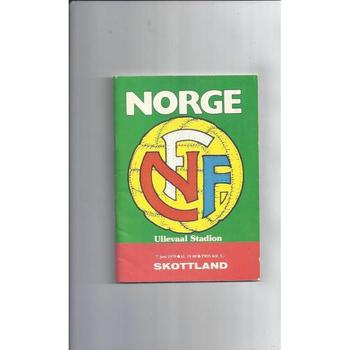 1979 Norway v Scotland Football Programme