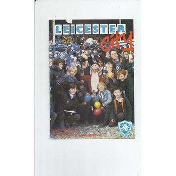 1982/83 Leicester City v Barnsley Football Programme