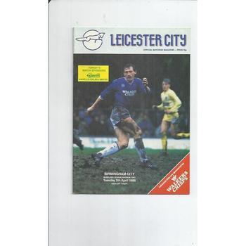 Birmingham City Away Football Programmes