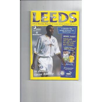 Leeds United Football Programmes