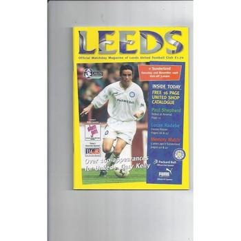 Leeds United Home Football Programmes