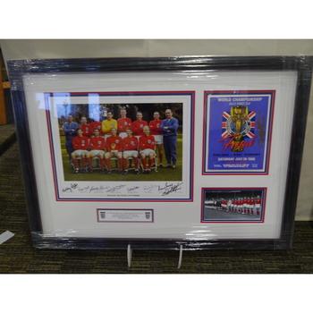 England 66 Signed Squad Photo