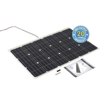 100 Watt Flexi PV with Rear of Panel Cable Exit (STPVF100)