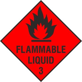 Flammable Liquid 3