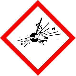New International Explosive Symbol