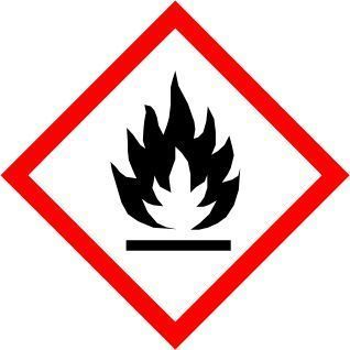 New International Flammable Symbol