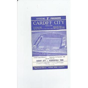 1950's League & Cup Football Programmes