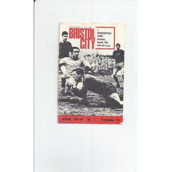 Bristol City Football Programmes