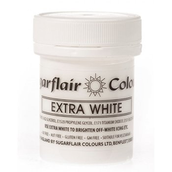 Sugarflair Extra White Paste