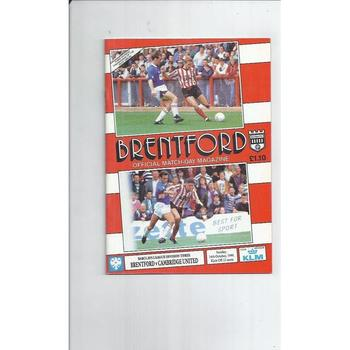 Cambridge United Away Football Programmes