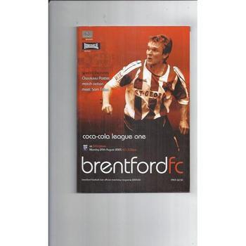 Brentford Home Football Programmes