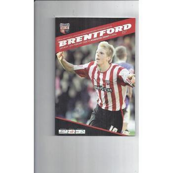 2007/08 Brentford v Accrington Stanley Football Programme
