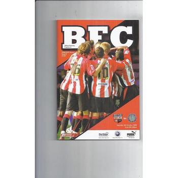 2008/09 Brentford v Macclesfield Town Football Programme
