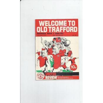 Stoke City Away Football Programmes