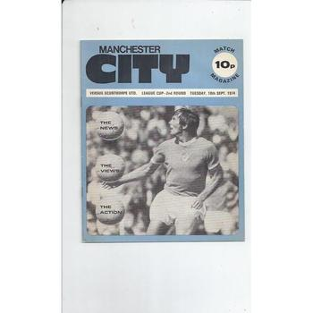 Scunthorpe United Away Football Programmes