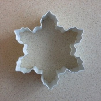 Metal Snowflake Cutter- Large