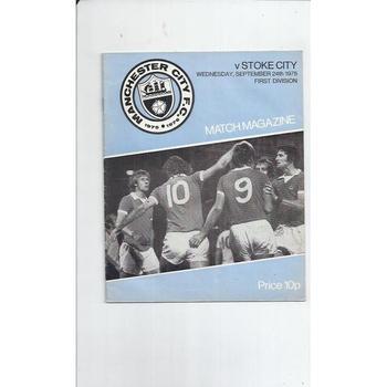 Stoke City Football Programmes