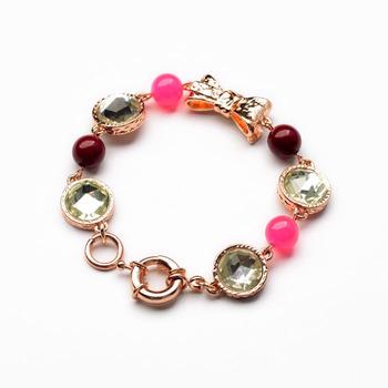 Bow Gem Bracelet