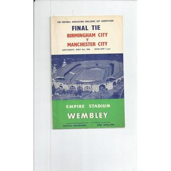 1956 Birmingham City v Manchester City FA Cup Final
