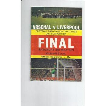 Arsenal v Liverpool FA Cup Final 1971