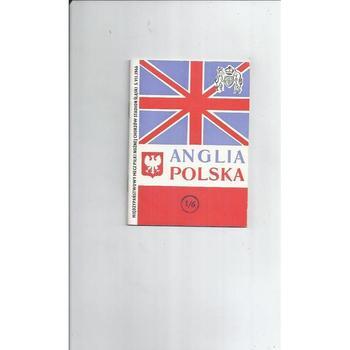 1966 Poland v England Football Programme