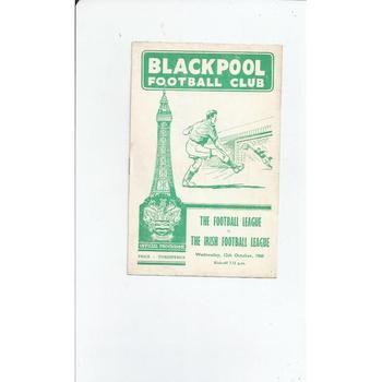 Football League v Irish Football League 1960/61 @ Blackpool