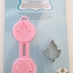 kitchen Craft: lef fondant Cutter & Mould