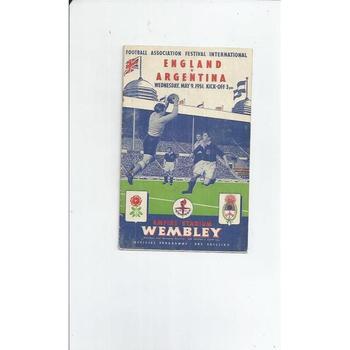 England v Argentina 1951