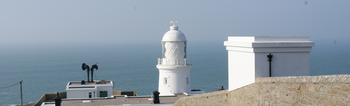 Majestic Pendeen Lighthouse Cornwall