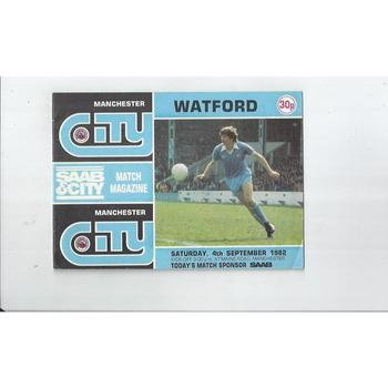 Manchester City Home Football Programmes