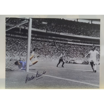 Gordon Banks Signed 'Pele - Save of the Century'