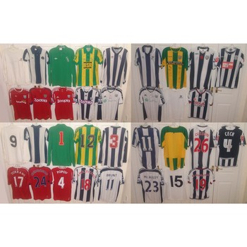West Brom Shirt Collection