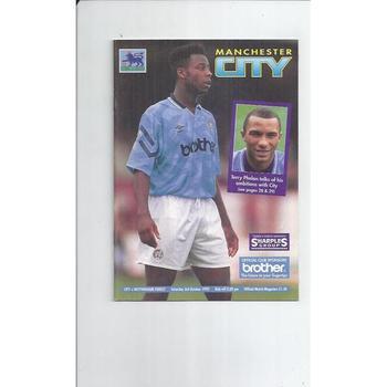 Manchester City Home Football Programmes