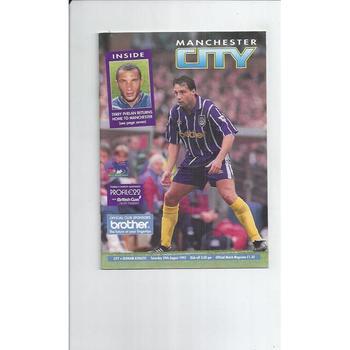 Oldham Athletic Away Football Programmes