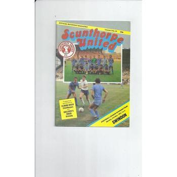 Swindon Town Away Football Programmes