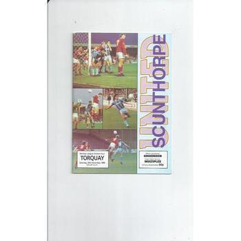 Torquay United Away Football Programmes