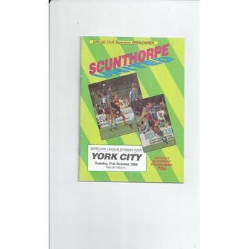 York City Away Football Programmes