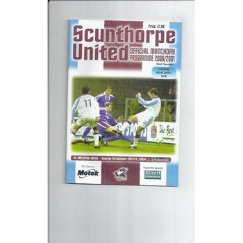 Scunthorpe United Home Football Programmes