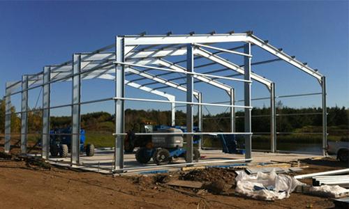Steel Buildings Commercial Amp Industrial Steel Frame