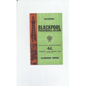 Blackpool v Blackburn Rovers 1964/65
