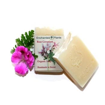 Rose Geranium Organic Soap