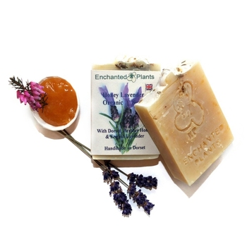 English Lavender Honey Organic Soap