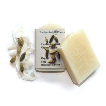 Cardamom & Coconut Cream Organic Soap