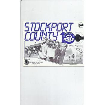 Doncaster Rovers Away Football Programmes