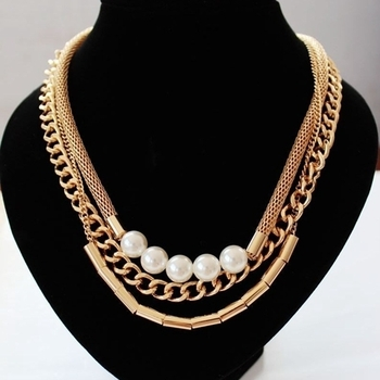 Pearl Mayam Necklace