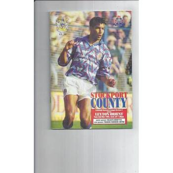 Stockport County Home Football Programmes