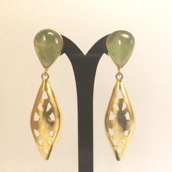 Prehanite Earrings